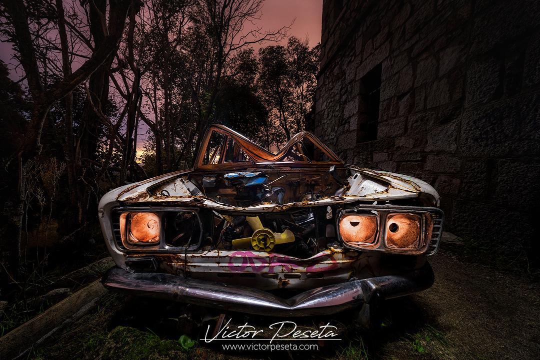 Seat 131 abandonado y oxidado