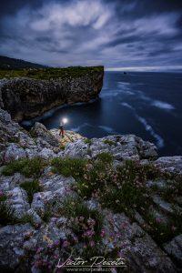 fotografía crepuscular en asturias efecto bola lumínica